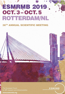 36 Annual Scientific Meeting European Society for Magnetic Resonance in Medicine and Biology