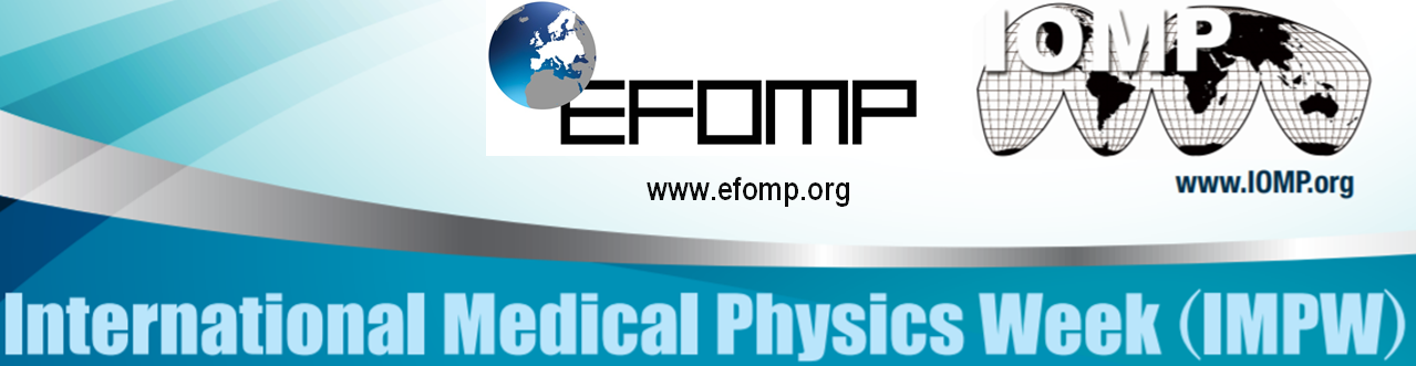 EFOMP joins the celebrations  of the International Medical Physics Week (IMPW) 2020