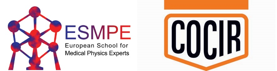 European School for Medical Physics Experts (ESMPE) Radiotherapy edition 2019